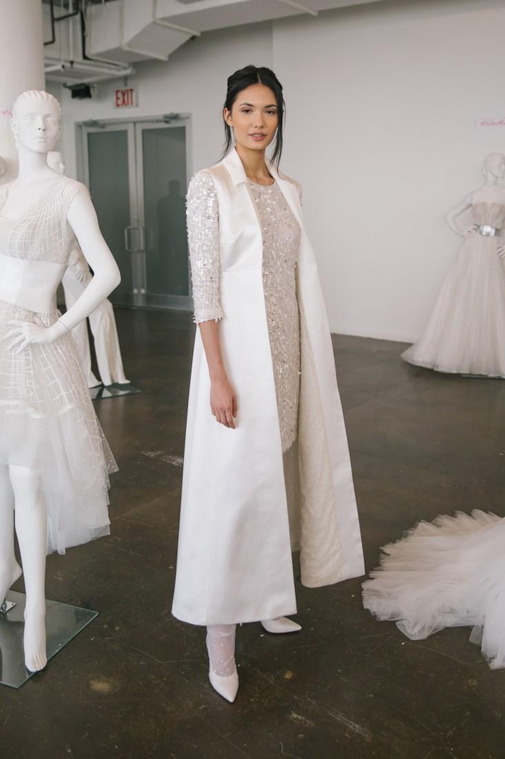 Nicole NYFW 2019 Bridal photo by Marisa Pena 26