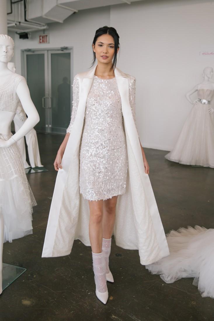 Nicole NYFW 2019 Bridal photo by Marisa Pena 27