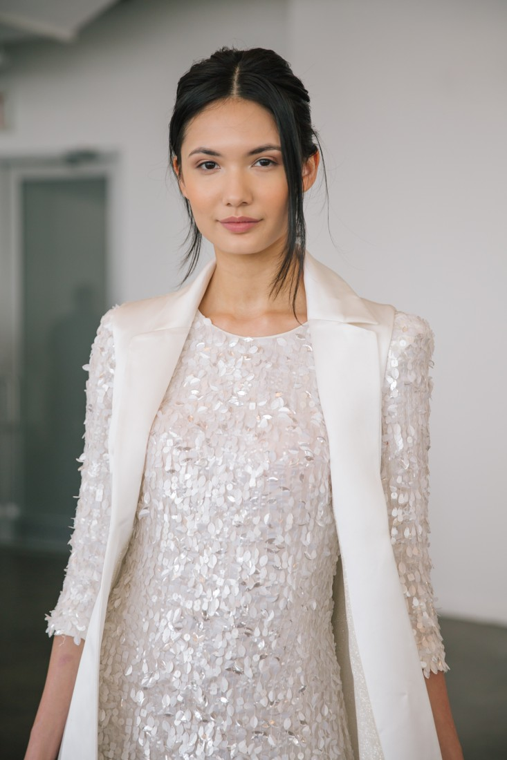 Nicole NYFW 2019 Bridal photo by Marisa Pena 28