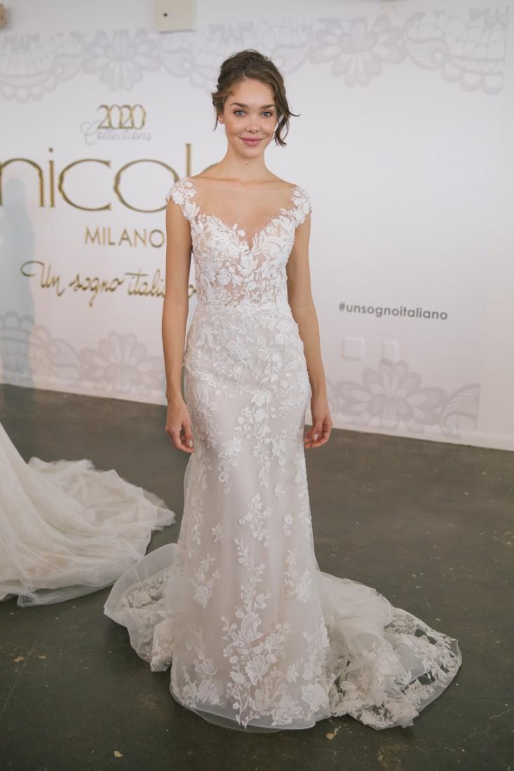 Nicole NYFW 2019 Bridal photo by Marisa Pena 29