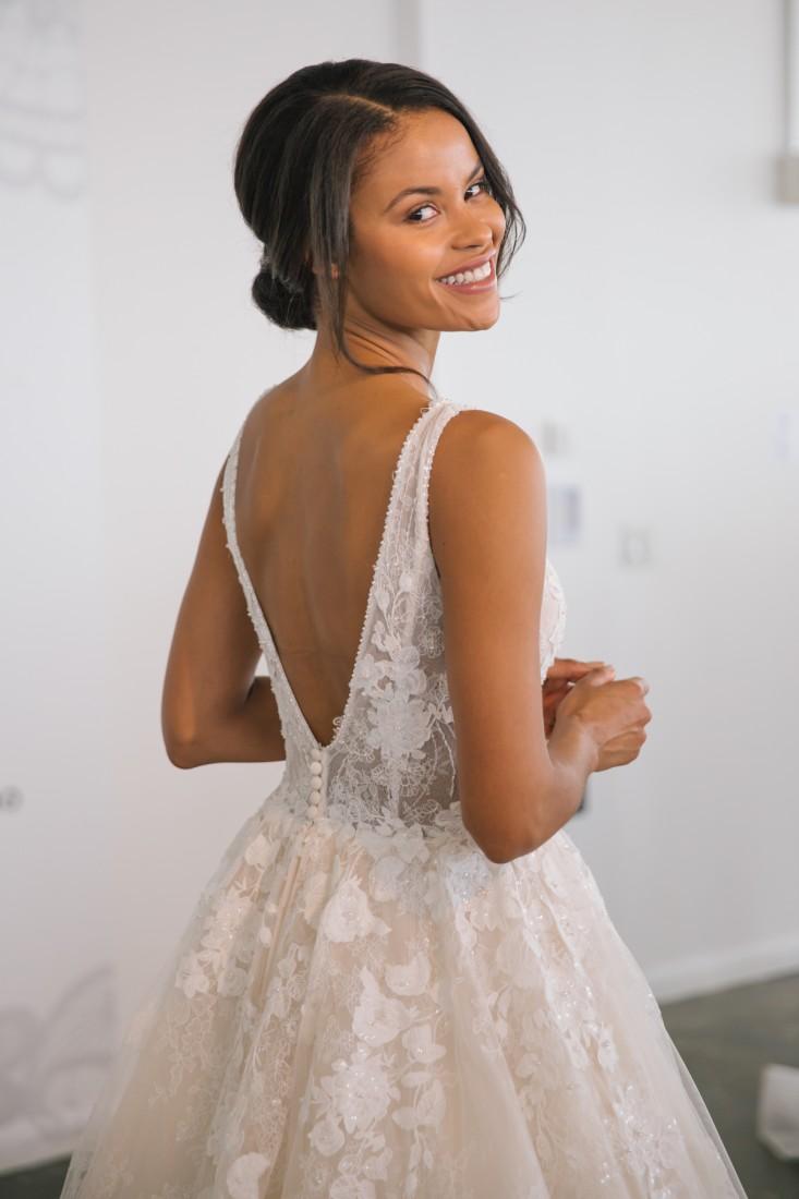 Nicole NYFW 2019 Bridal photo by Marisa Pena 30