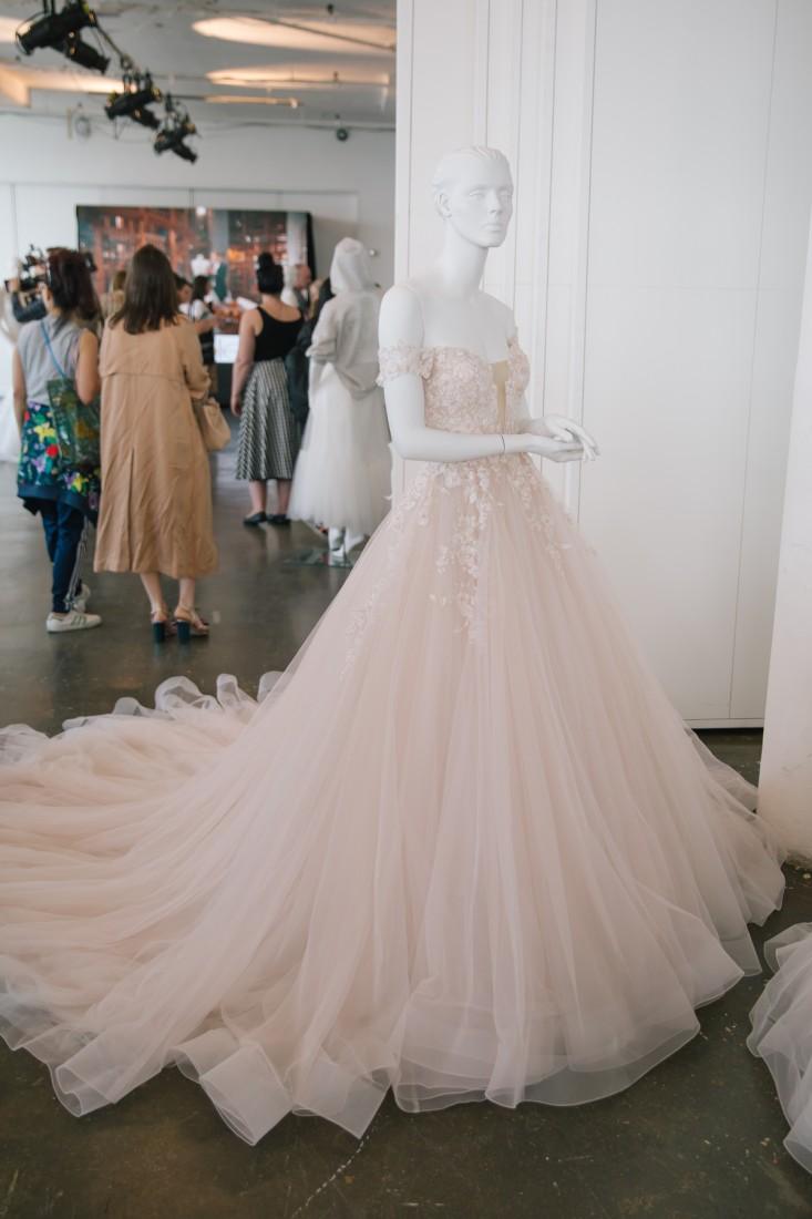 Nicole NYFW 2019 Bridal photo by Marisa Pena 4