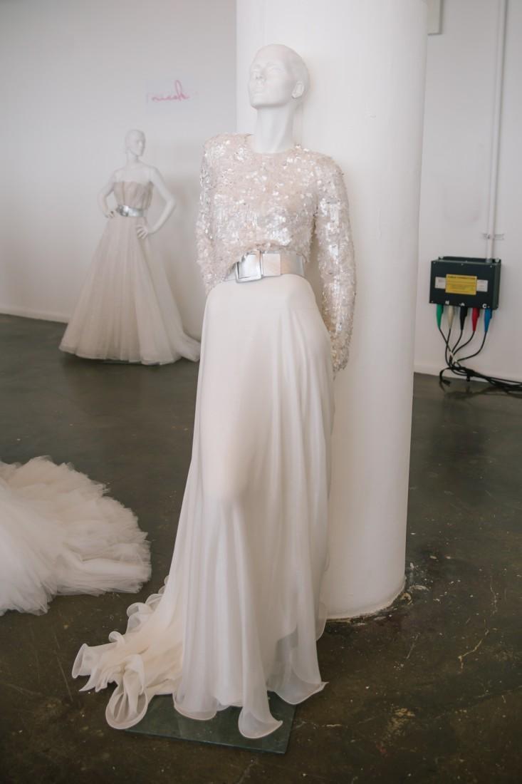 Nicole NYFW 2019 Bridal photo by Marisa Pena 5