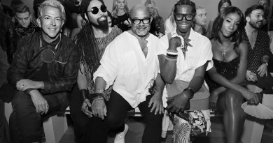 Ty Hunter Ez De La Rosa and Jay Alexander Front Row@Michael Costello NYFW SS2019 photo by Cheryl Gorski 41