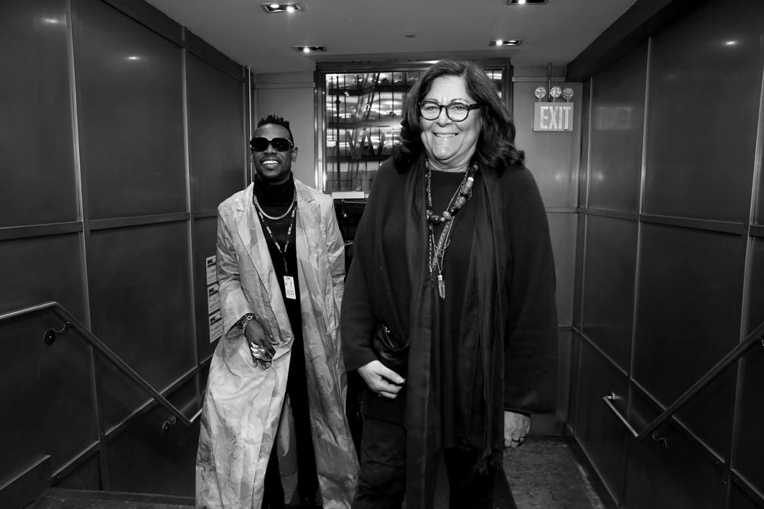 1. Elliot Carlyle Fern Mallis@threeASFOUR at the Guggenheim NYFW FW2019 photo by Cheryl Gorski