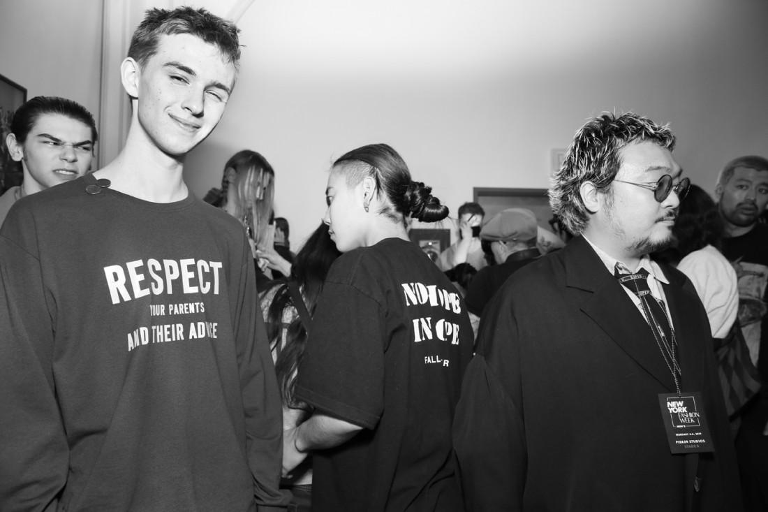 Backstage@Landlord MENS NYFW FW2019 photo by Cheryl Gorski 10