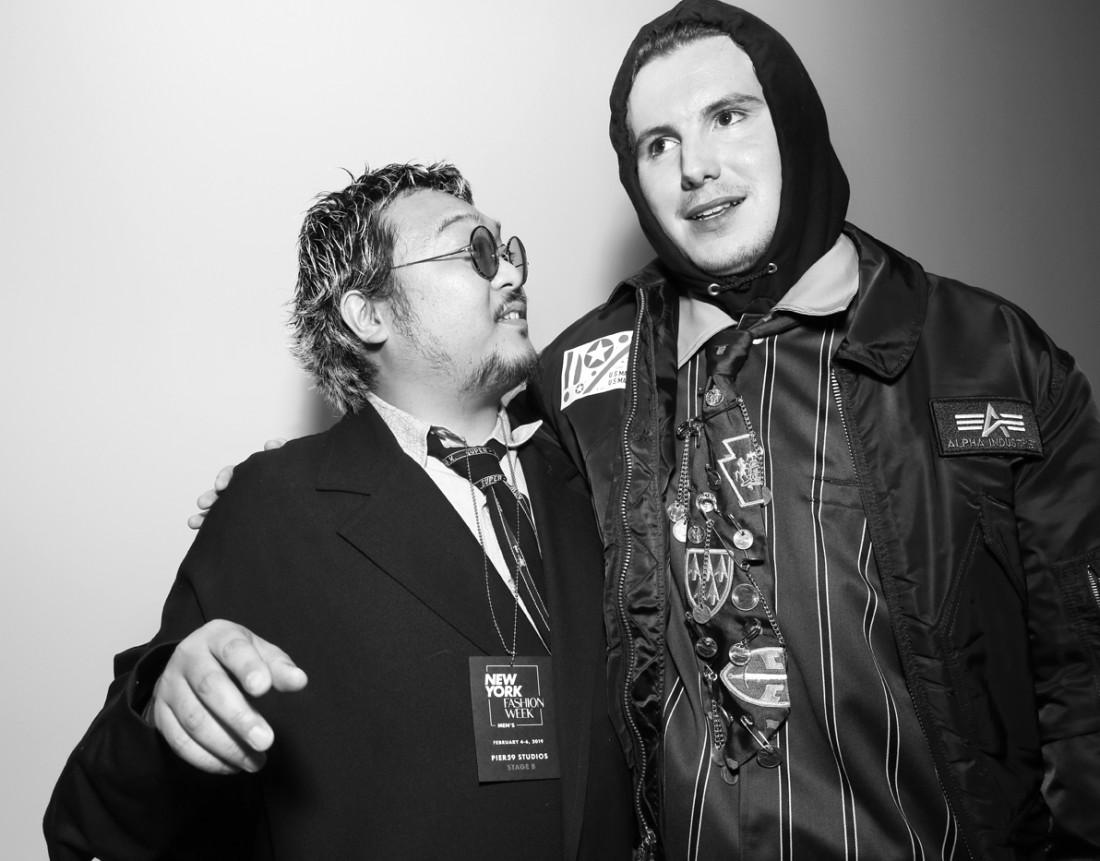 Backstage@Landlord MENS NYFW FW2019 photo by Cheryl Gorski 19