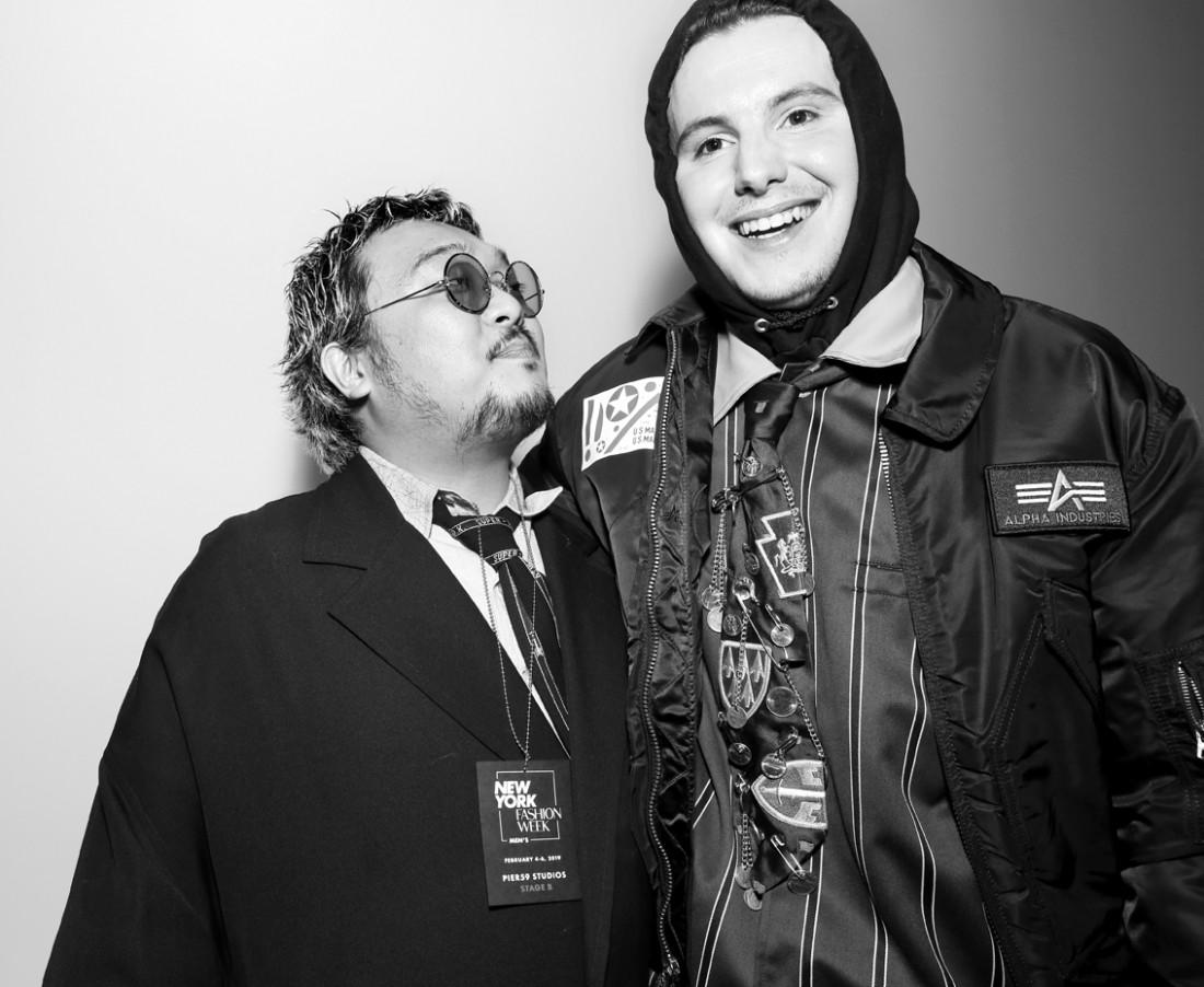 Backstage@Landlord MENS NYFW FW2019 photo by Cheryl Gorski 20