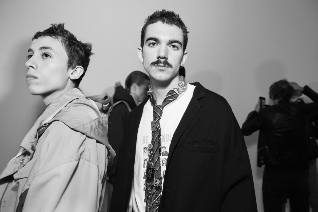 Backstage@Landlord MENS NYFW FW2019 photo by Cheryl Gorski 34