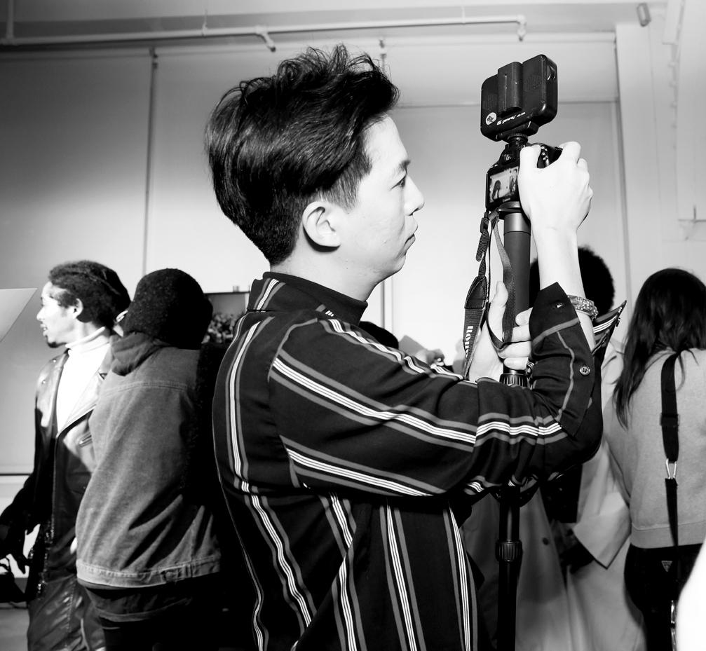 Backstage@Landlord MENS NYFW FW2019 photo by Cheryl Gorski 42