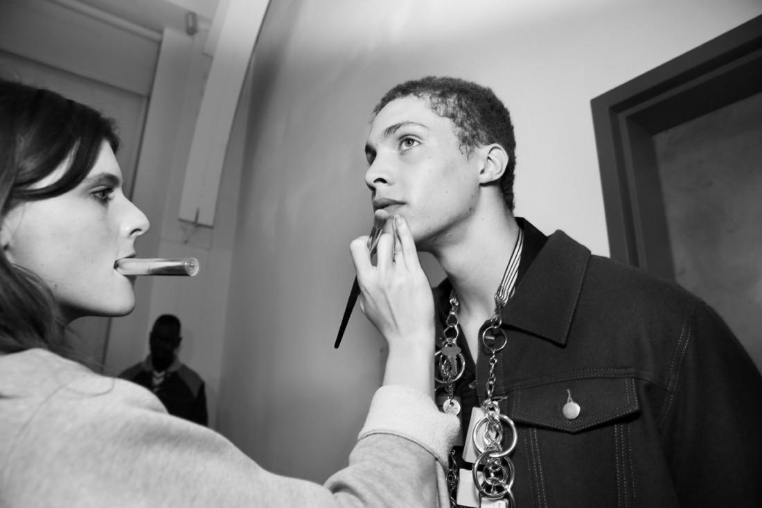 Backstage@Landlord MENS NYFW FW2019 photo by Cheryl Gorski 45