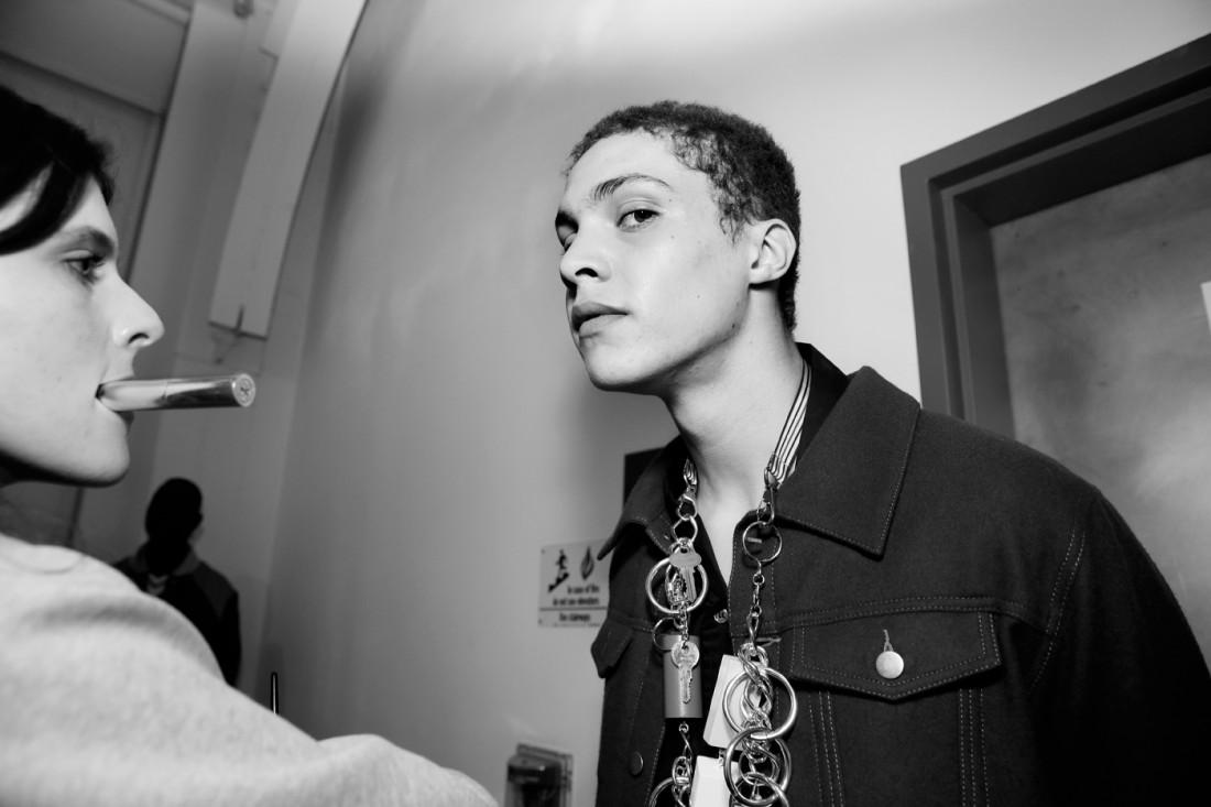 Backstage@Landlord MENS NYFW FW2019 photo by Cheryl Gorski 46