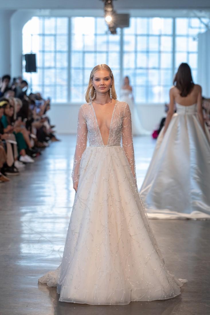 2503ce5372253 Berta NYFW Bridal SS2020 - Fashion Maniac