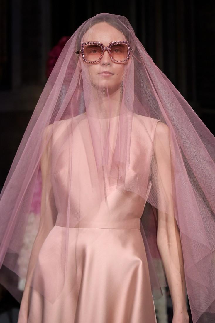 9a58ada61bf5 Reem Acra Bridal NYFW 2020 photos by Aly Kuler - Fashion Maniac