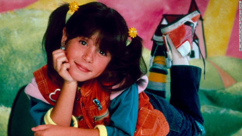 Soleil Moon Frye as Penelope 'Punky' Brewster (Photo by NBC/NBCU Photo Bank via Getty Images)