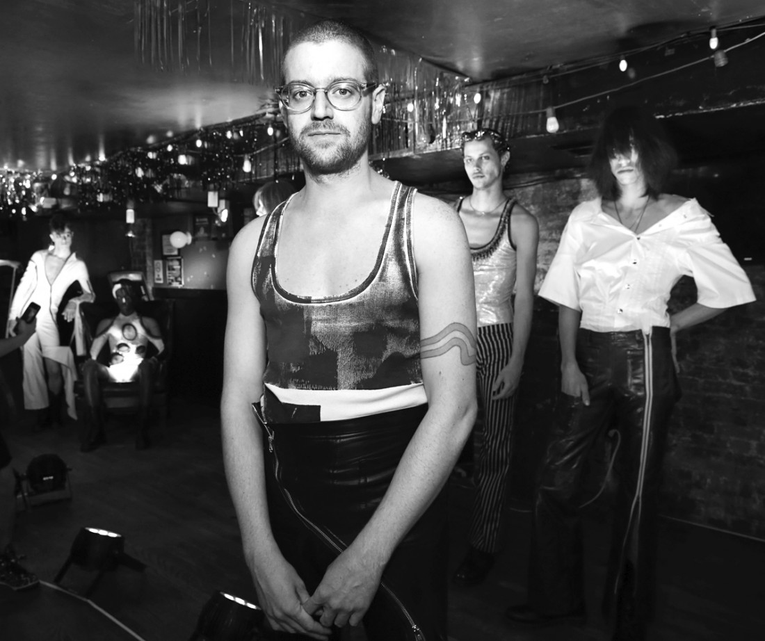 Neil Patrick Grotzinger Designer@NIHL Mens NYFW SS2020 photo by Cheryl Gorski 2