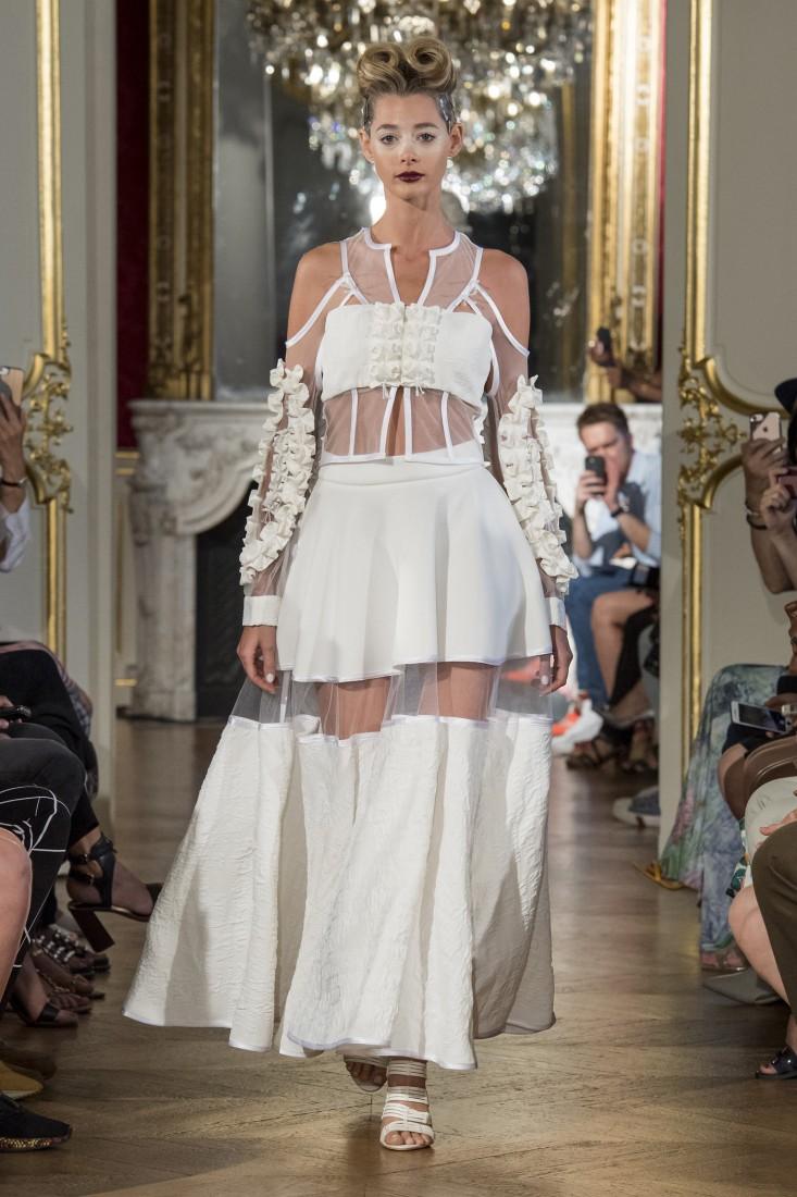 Adeline Ziliox Paris FW2019 photo by imaxtree 11