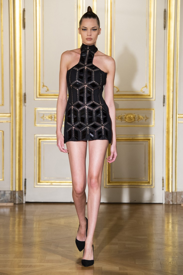 Adeline Ziliox Paris FW2019 photo by imaxtree 28