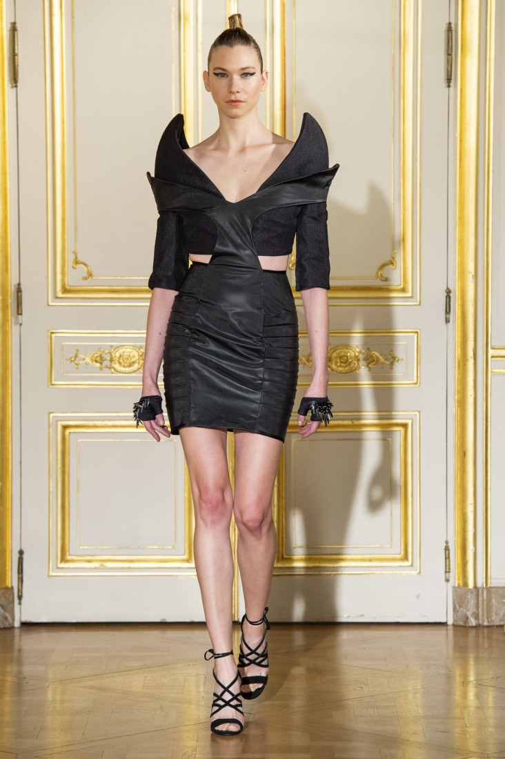 Adeline Ziliox Paris FW2019 photo by imaxtree 33