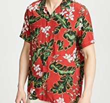 J Crew Short Sleeve Printed Shirt
