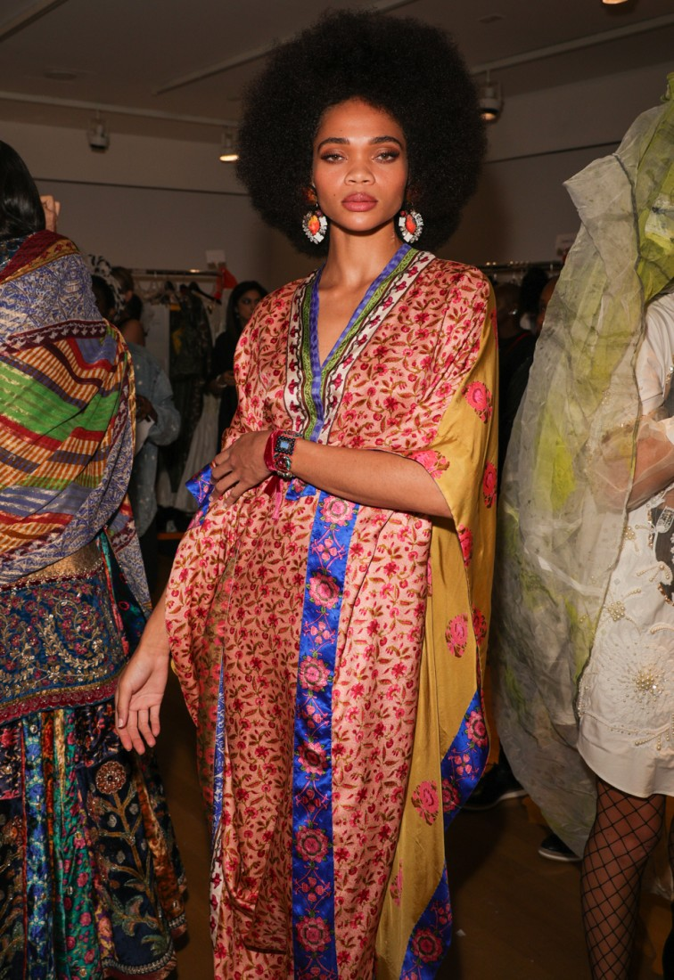 Backstage@ Fashion Parade NYFW SS2020 photo by CJ Rivera 12