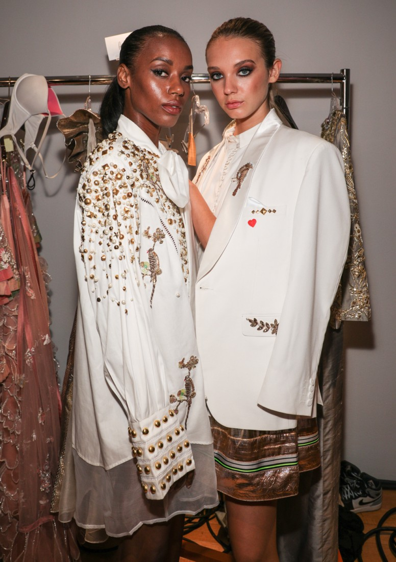 Backstage@ Fashion Parade NYFW SS2020 photo by CJ Rivera 16