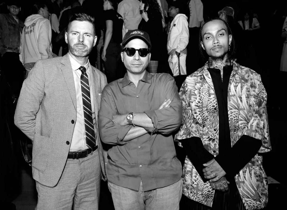 Front Row@ N.Hoolywood MENS NYFW SS2020 photo by Cheryl Gorski 12 1