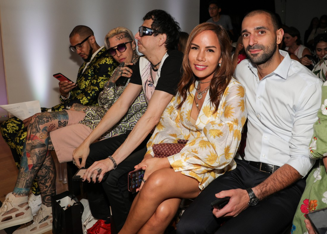 Front Row@Fashion Parade NYFW SS2020 photo by CJ Rivera 3