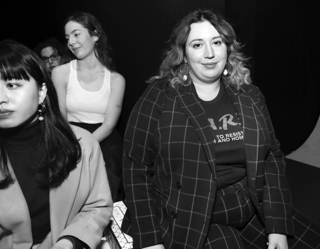 Front Row@Laurence Chico NYFW FW2019 photos by Cheryl Gorski 10