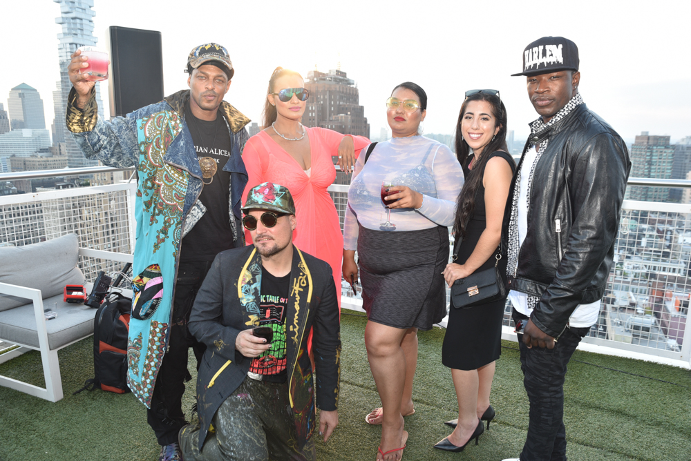 After Party@Nomo Soho Hotel Hosted by Mykel C. Smith NYFW SS2020 photo by Paul Prince 1