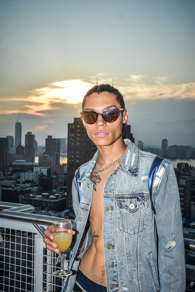 After Party@Nomo Soho Hotel Hosted by Mykel C. Smith NYFW SS2020 photo by Paul Prince
