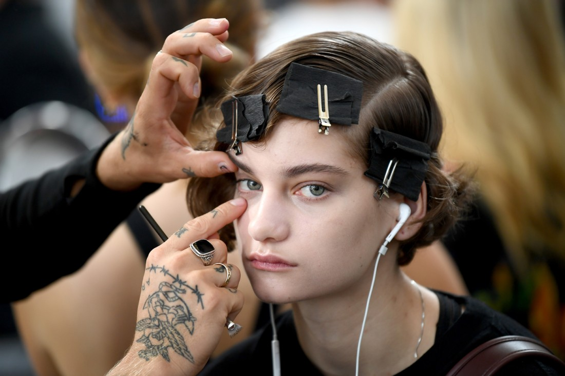 Backstage@Michael Kors NYFW SS2020 photo by Gety Images 6