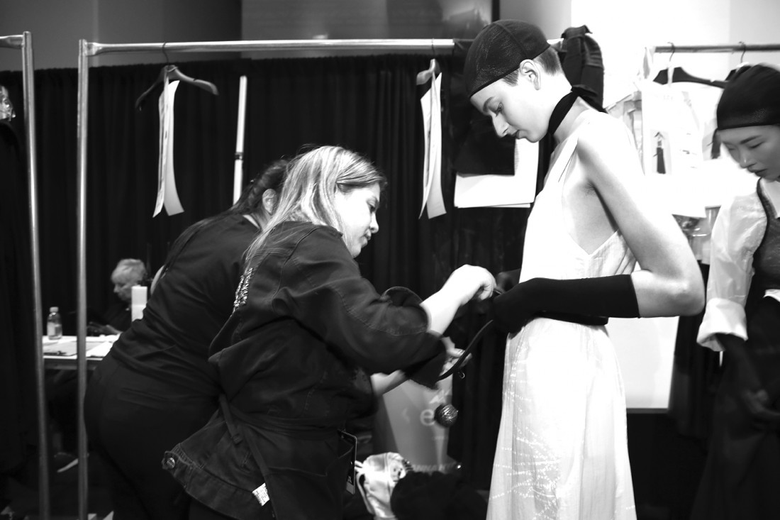 Backstage@Rizhuo NYFW SS2020 Photo By Cheryl Gorski 10