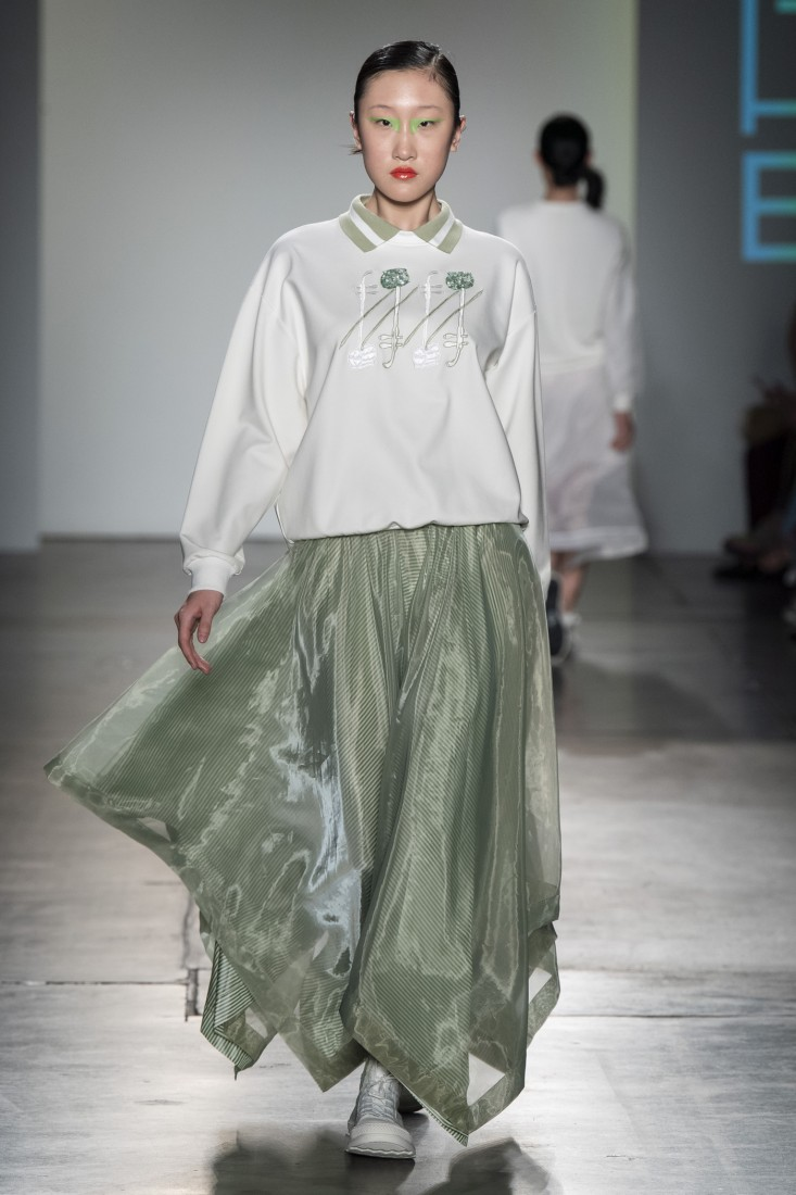 Bailuyu by Fu Wenjie Global Fashion Collective NYFW SS2020 photos by IMAXTree 13