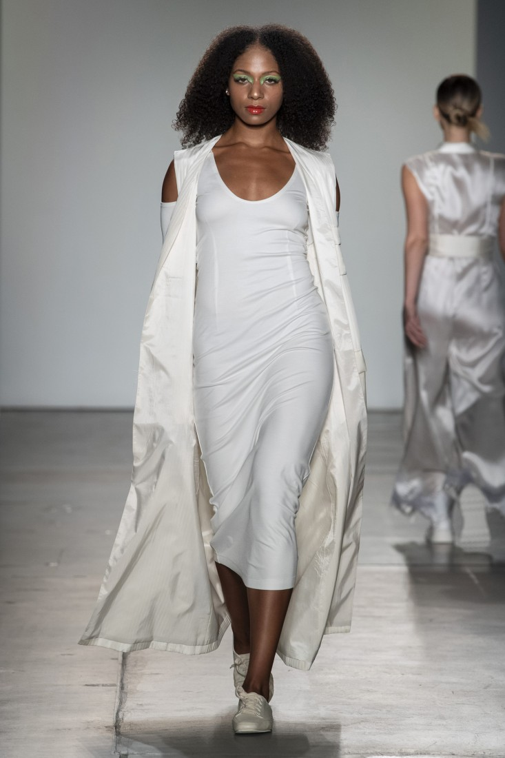 Bailuyu by Fu Wenjie Global Fashion Collective NYFW SS2020 photos by IMAXTree 19