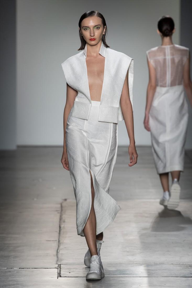 Bailuyu by Fu Wenjie Global Fashion Collective NYFW SS2020 photos by IMAXTree 2