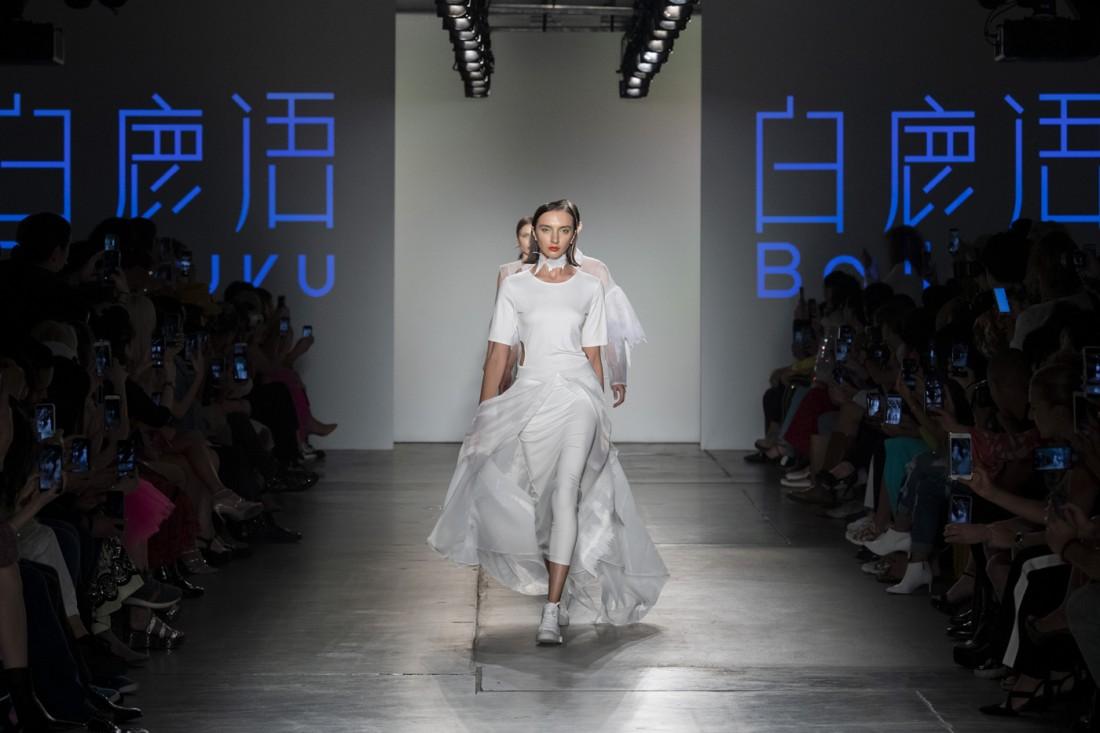 Bailuyu by Fu Wenjie Global Fashion Collective NYFW SS2020 photos by IMAXTree 34