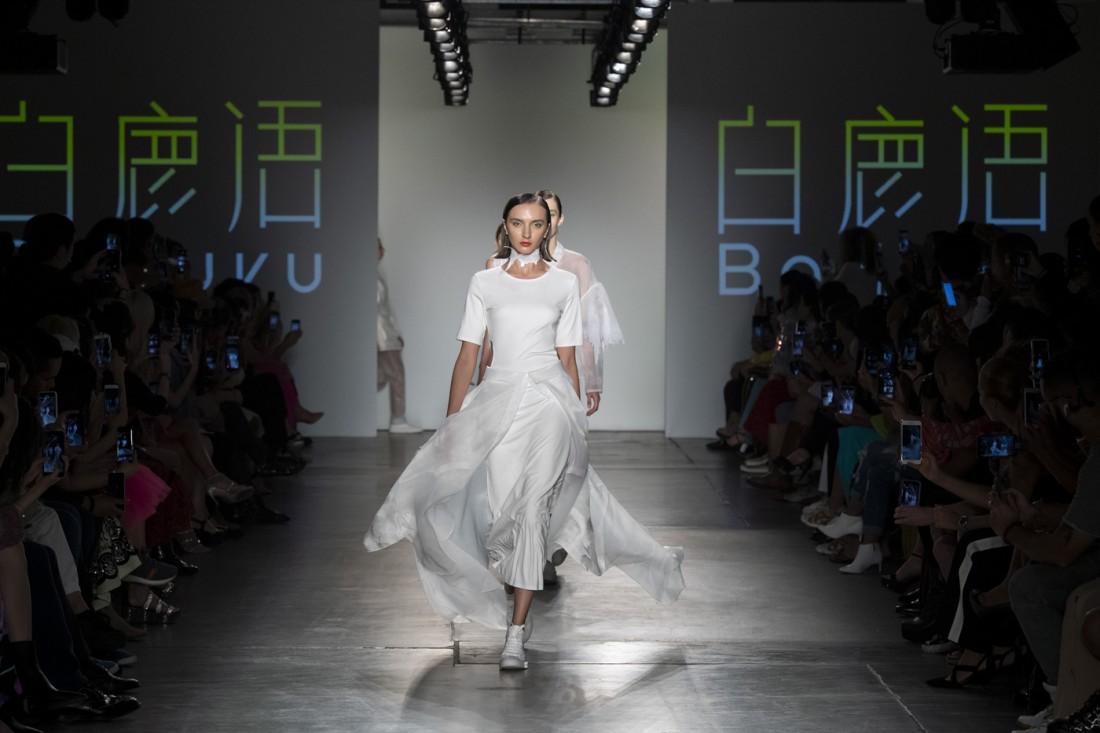 Bailuyu by Fu Wenjie Global Fashion Collective NYFW SS2020 photos by IMAXTree 35