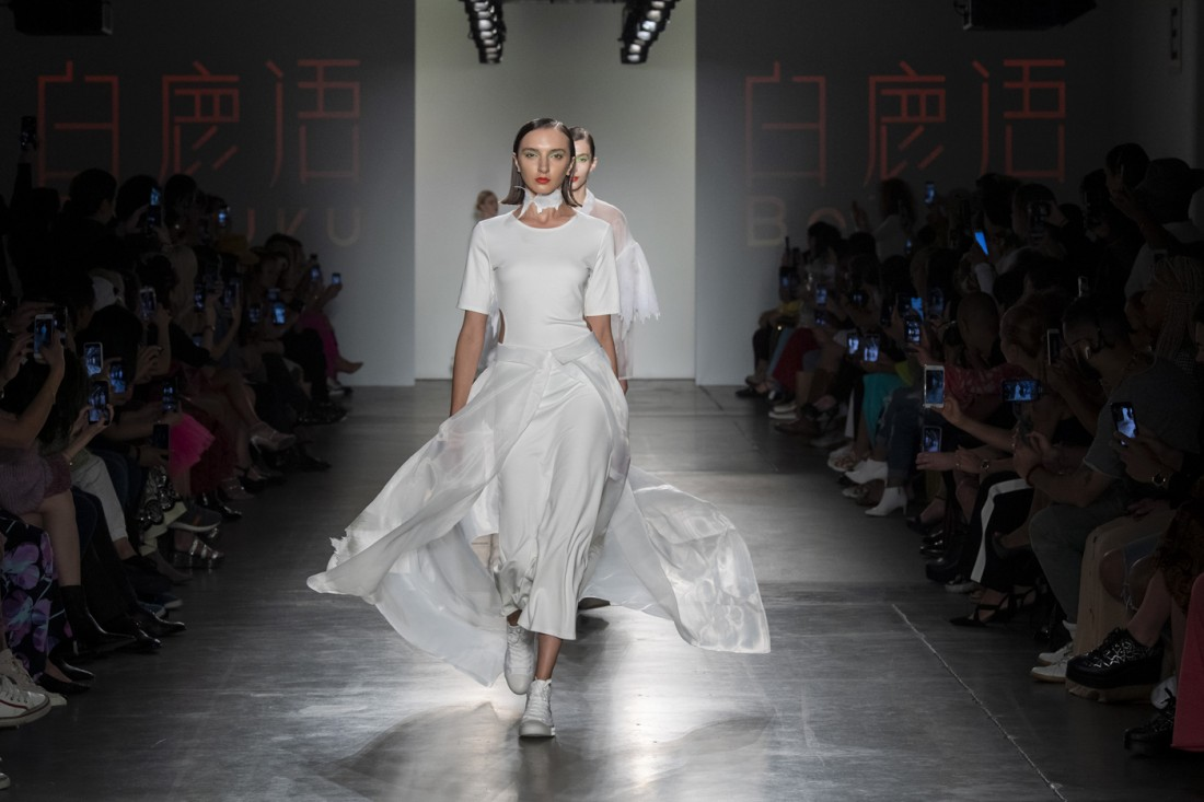 Bailuyu by Fu Wenjie Global Fashion Collective NYFW SS2020 photos by IMAXTree 36