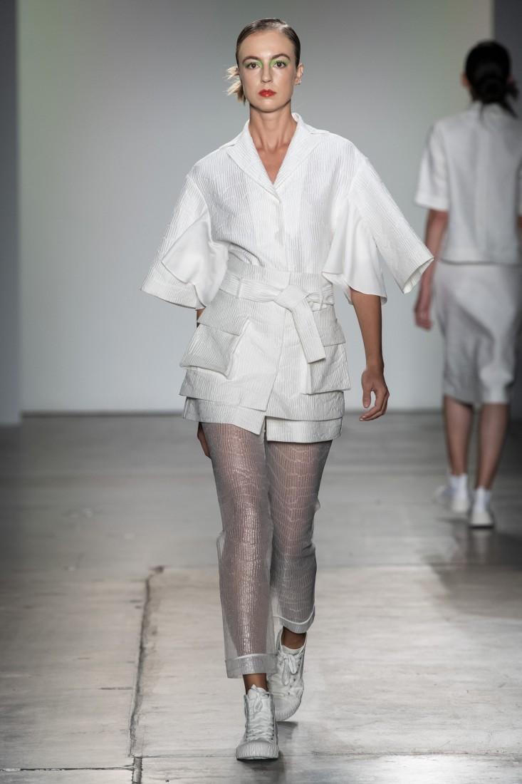 Bailuyu by Fu Wenjie Global Fashion Collective NYFW SS2020 photos by IMAXTree 4