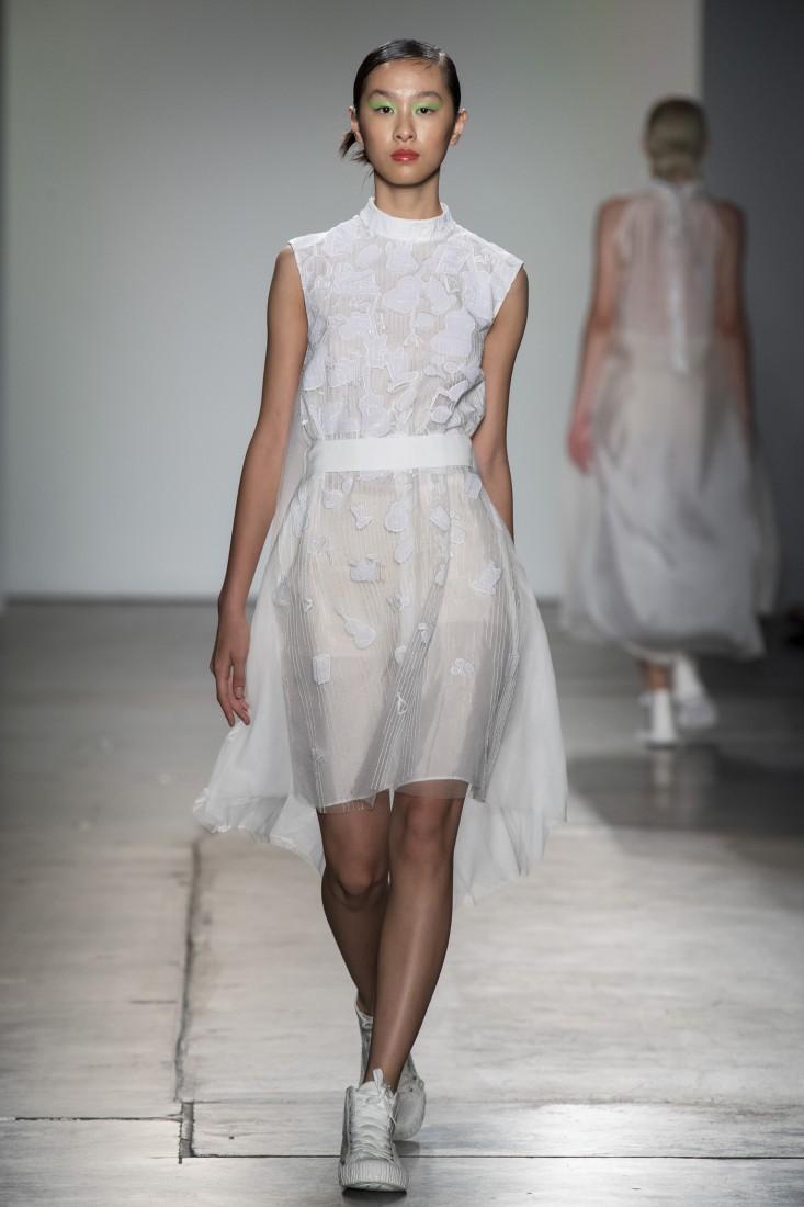 Bailuyu by Fu Wenjie Global Fashion Collective NYFW SS2020 photos by IMAXTree 9