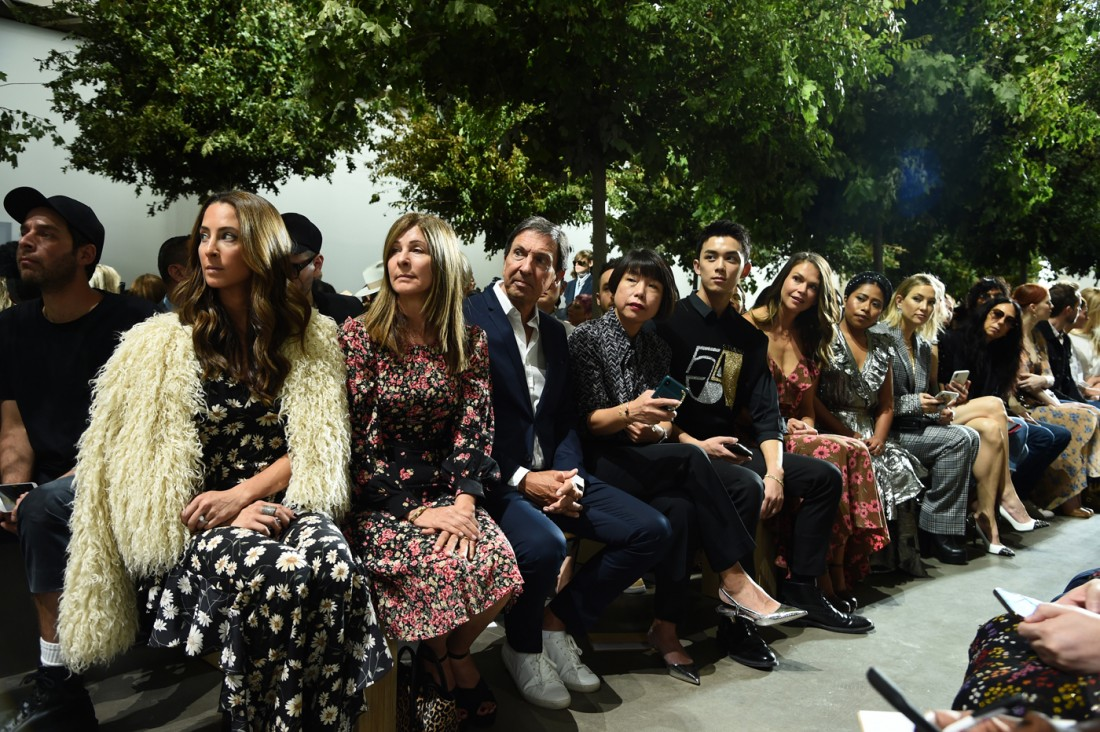 Front Row@Michael Kors NYFW SS2020 photos by Getty Images 32