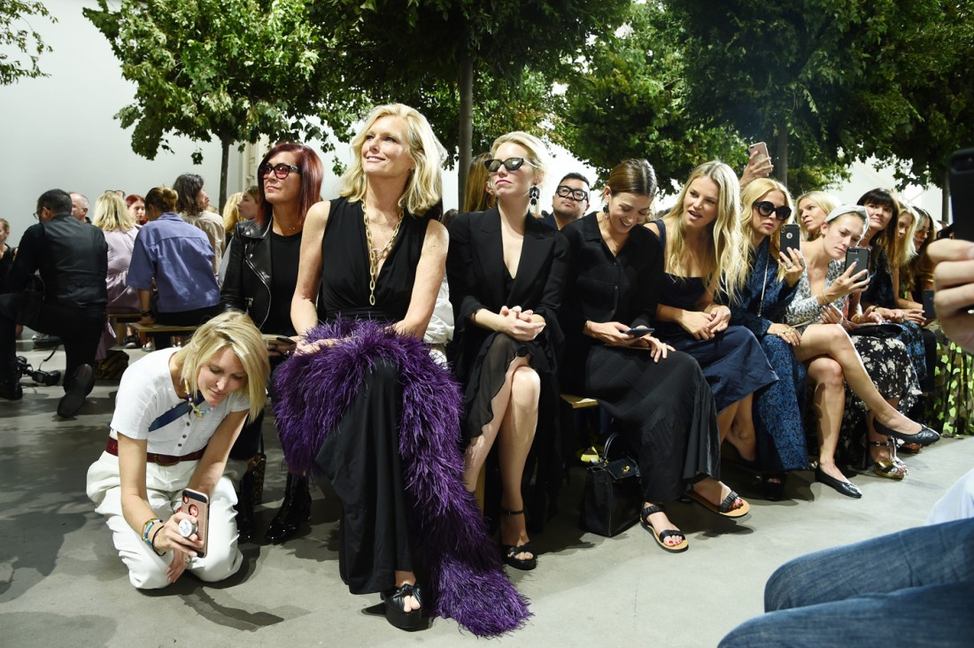 Front Row@Michael Kors NYFW SS2020 photos by Getty Images 35