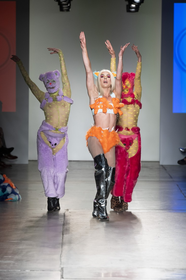 Global Fashion Collective Haus Zuk NYFW SS2020 photo by IMAXTree 13