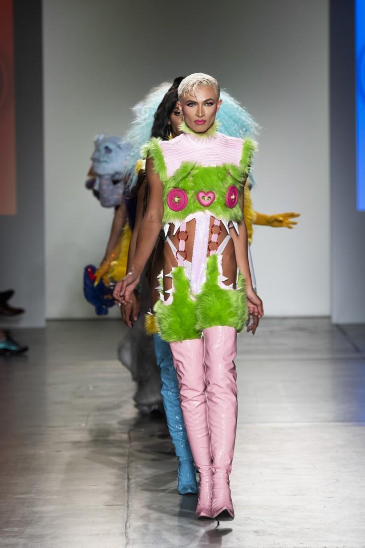 Global Fashion Collective Haus Zuk NYFW SS2020 photo by IMAXTree 15