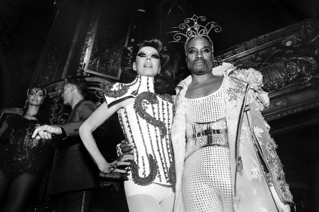 Guests@The Blonds NYFW SS2020 photo by Cheryl Gorski 83