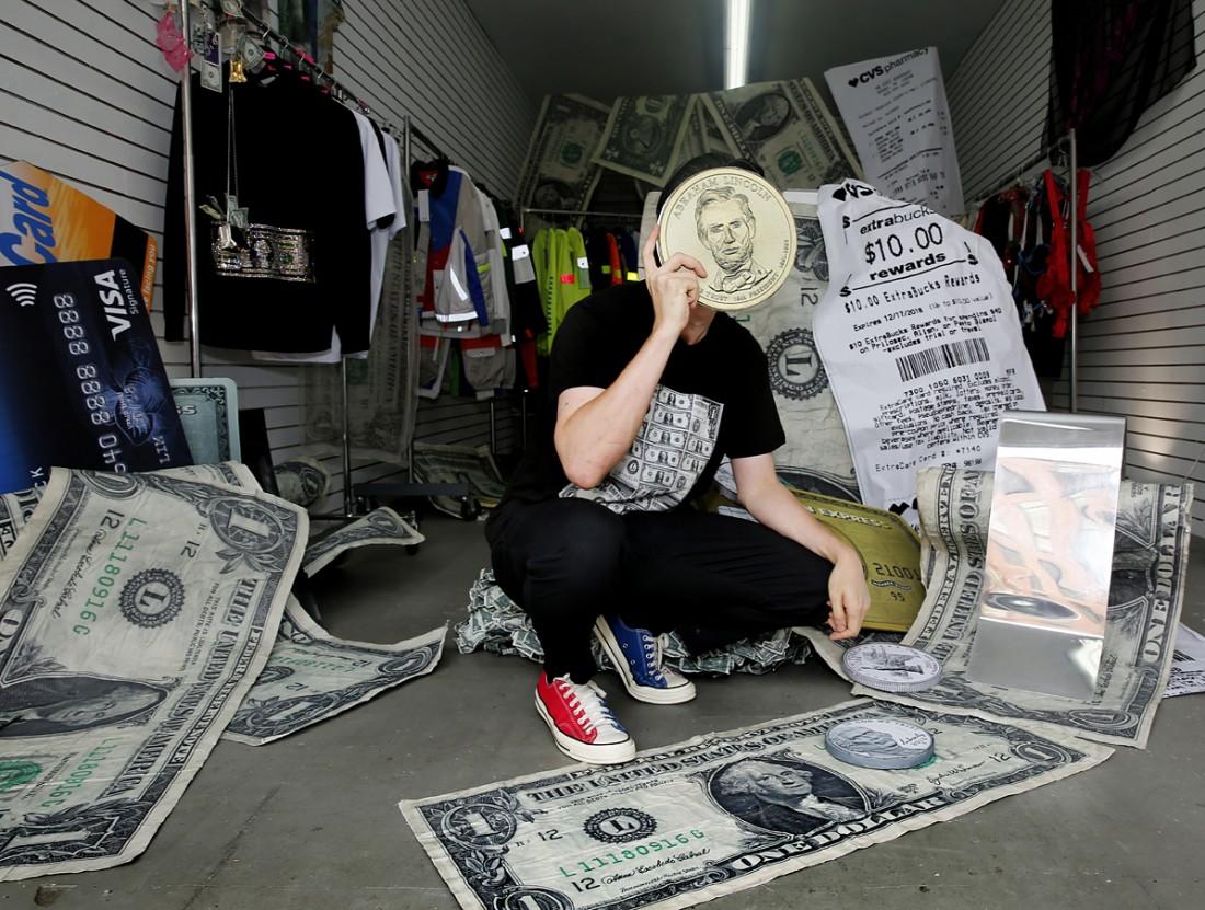 Kota Okunda Cash Designer NYC Canal St Underground photo by Cheryl Gorski 1