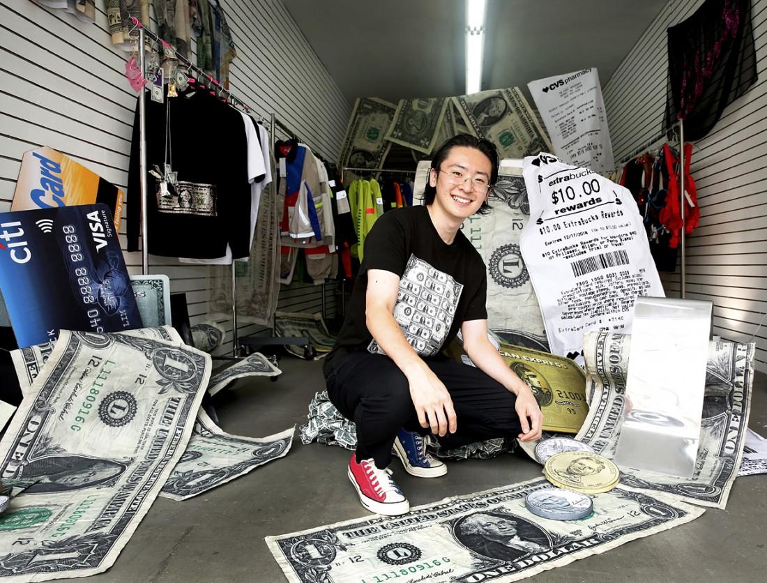 Kota Okunda Cash Designer NYC Canal St Underground photo by Cheryl Gorski 4