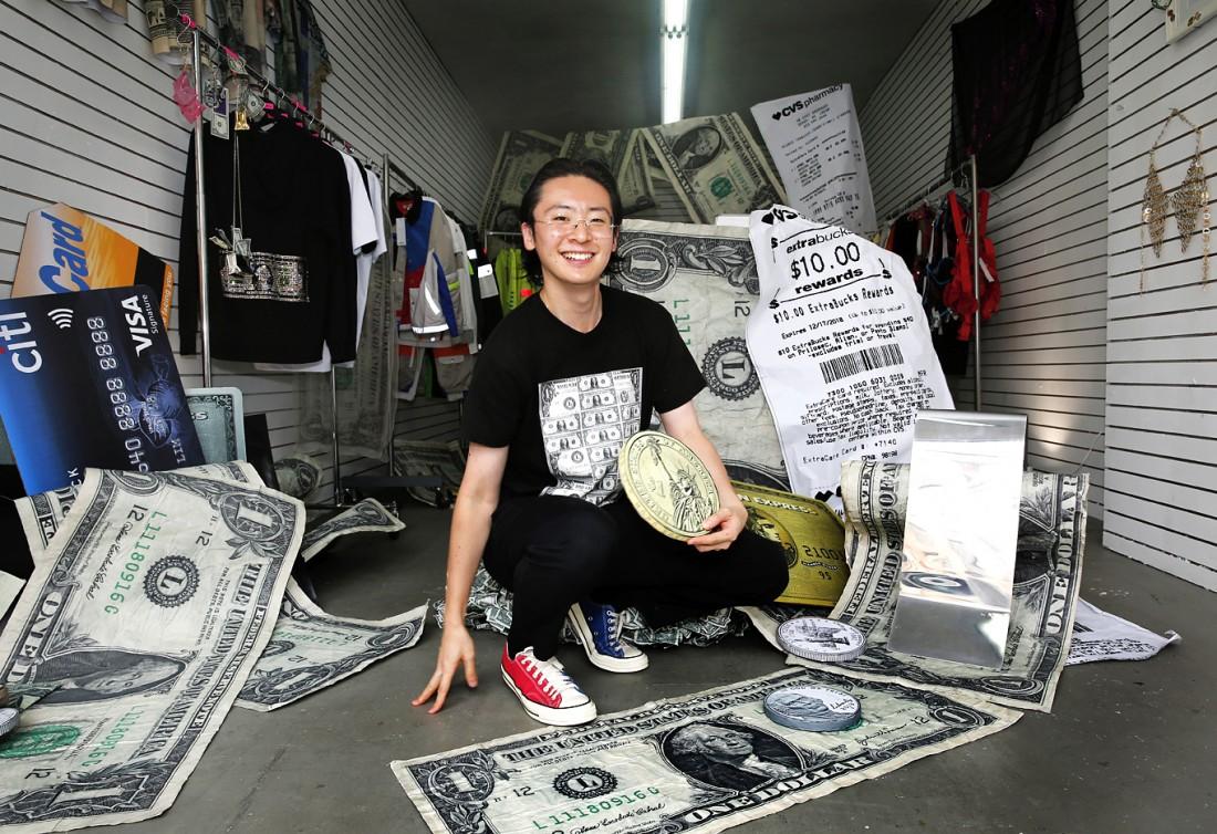 Kota Okunda Cash Designer NYC Canal St Underground photo by Cheryl Gorski 5