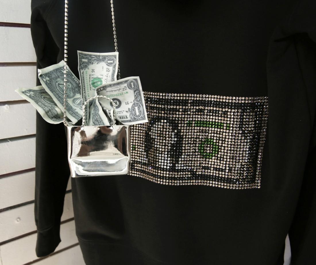 Kota Okunda Cash Designer NYC Canal St Underground photo by Cheryl Gorski 8